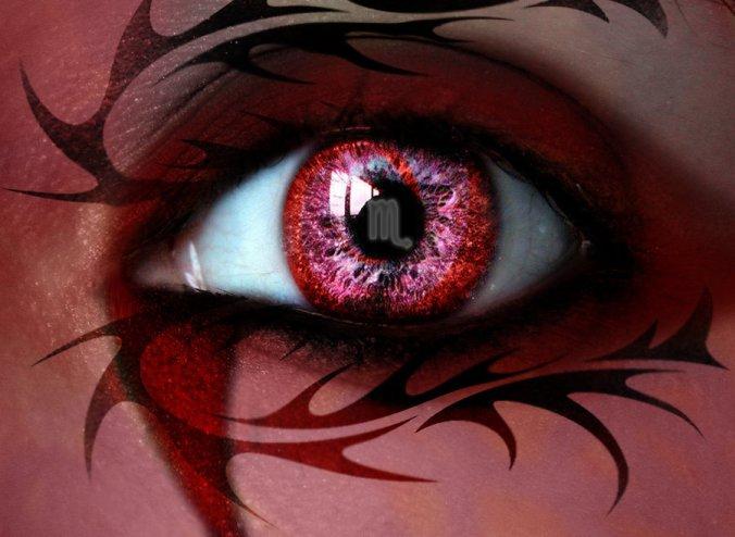 scorpio eye